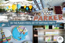 Oh The Places You'll Go - First Birthday Party / by Lauren Loden