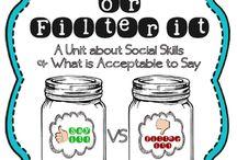 Feelings/Social Lesson Ideas