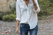 FSH - Biała koszula / stylizacje z białą koszulą
