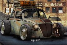 Rat Rods / by Tim F