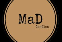 MaD Candles / hand made soy candles created with mad love