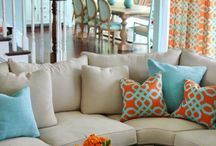 Bright, fun, preppy home / by Mary Woodward