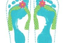 Hand-, finger-, footprintsss