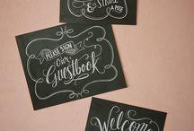 Blackboards / Wording ideas