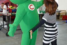 Costume Gonflable / Air et Volume est le spécialiste des costumes gonflables pour les entreprises. Que ce soit une mascotte ou un packaging, Air et Volume propose des costumes sur mesure !