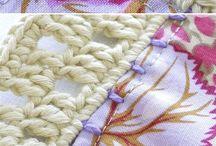 plaid bordure crochet