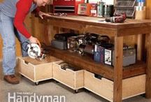 Basement Workshop Ideas / by Summer LaForge Gardner