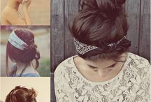 HAIRSTYLES / Living an adventurous life with busy work schedules, I prefer hairstyles that are easily done but still look pretty.
