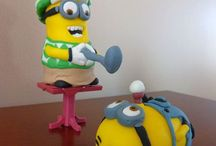 Despicable Me Cake Topper