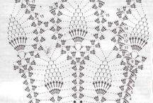 wzory ananasowe