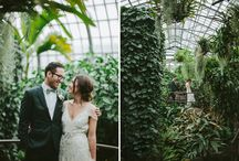 Greenhouse Elopement  Paris / Soft Ethereal Love Story