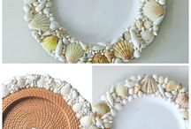 SEA SHELLS DECORATIONS