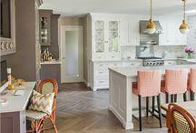 White Kitchen / white, kitchen, cabinets, countertops,