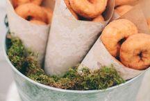 Party - Donut Wedding Reception
