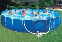 Intex Pools / Gear up for the summer now!