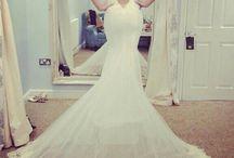 mermaid wedding dress / mermaid wedding dress