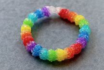Kenna's rainbow loom ideas / by DeAnna Marler