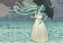 {kraken} / Octopi are avid collectors and clearly kin.  / by Flotsam Jetsam