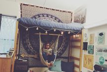 Dorm/bed/Boho room ideas