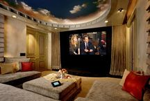 Spaces:  Home Theater / by Wendy McKay