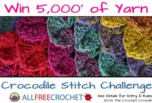 Crocodile Crochet Stitch Challenge with The Crochet Crowd