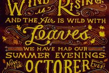 October :: Best Month Of The Year