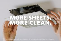 More Sheets. More Clean. More je ne sais quoi. / Give your home the clean it deserves with 45 more sheets* from Viva® Towels.