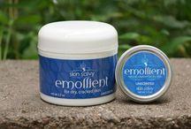 Dry Cracked Skin Cream Solutions & Relief, fingertips, heels, hands, heels / Products to help dry,cracked skin. May help soothe dermatitis, eczema.