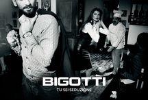 Image campaign BIGOTTI / Italian style, seduction and power