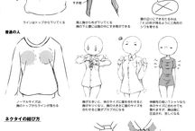 Drawing tips (Detail of Clothes)