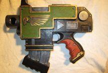 Warhammer 40k weapons