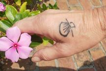Camino Tattoos / Often people choose a tattoo to commemorate the Camino experience, an indelible indication of the changes within.