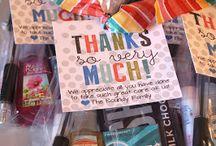 Gifts- Appreciation