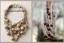 Necklaces / by Jennifer Harp-Douris