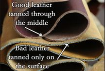Leather. The material.