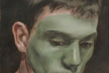 """Michael Borremans / Michael Borremans, peintre belge assez inclassable, qui cultive une peinture à la facture """"classique"""" mais dans une démarche quasiment plasticienne. Michael Borremans crée des tableaux qui sont comme des énigmes dans un jeu récursif sur le statut de l'image, de la représentation. Fascinant, le mot est approprié !"""