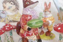 Cottage Pottery / Ceramic Handmade Pottery
