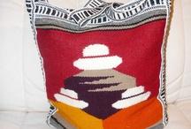 Messenger Bags / Soft cotton authentic Inca Messenger Bag