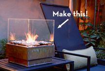 DIY, fireplace
