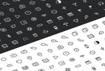 Free resources: fonts, icons, wireframes / Fonts, icons, wireframes free to download