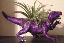 glitter Dinosaurs