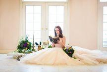 Hochzeitsdeko - Brautfrisuren - Hochzeitstisch dekorieren