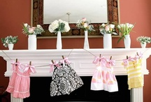 Baby Shower Flowers / Here's a selection of gorgeous floral concepts for baby showers.