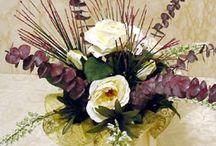 Silk Flower Arranging / by Sheila Conrad