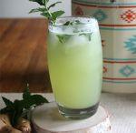 Fresh Honeydew Ginger Mojito