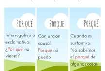 Español / by Maria G. Trejo-Trejo