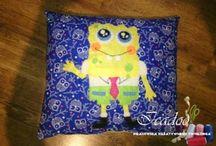 Pillows felt applique / Poduszki imienne/ozdobne