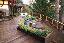 jardines y exteriores