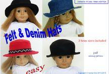 Doll Clothes Patterns - ikpatterns Etsy shop / Patterns available in my Etsy shop https://www.etsy.com/shop/ikpatterns