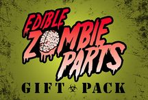 Gifts for Zombie Lovers / Finding gifts for my zombie-loving sons and nephews, even though they are teens-29 years old, is no longer a brain-drain (don't say brains!!!!!) Fun, clever, and humorous gifts....what's not to love about zombies?